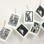 Woodcut Print-making with Still Life