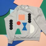 Upcycle Clothing with Screen-printed Designs Adults and Kids (Inter-generational Series)